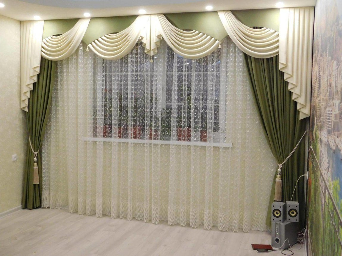 фото моделей тюлевых штор в зал запаха приятнее