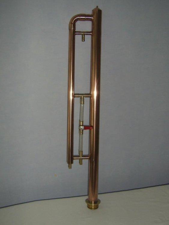 Прямоточный медный самогонный аппарат как очистить медную сетку самогонного аппарата