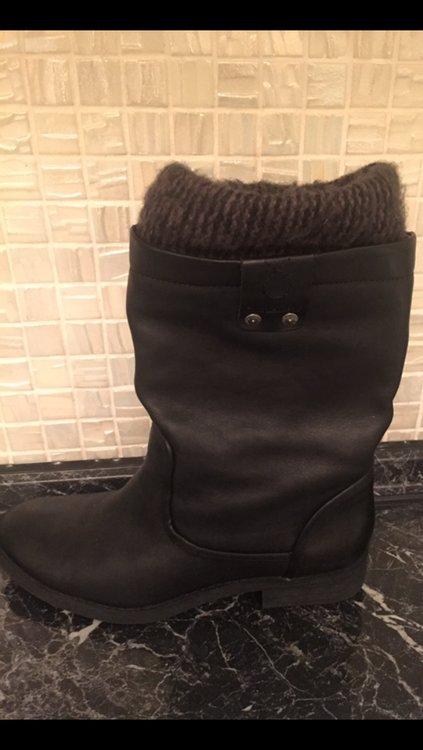 9711303957e4 Продам сапоги Calvin Klein оригинал, кожаные, почти новые, 36 размер