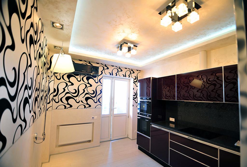 Верхние шкафы для кухни фото