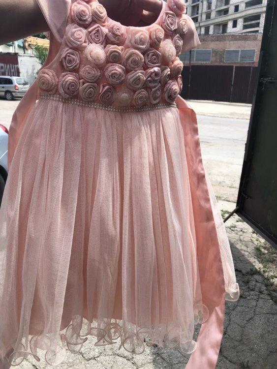 9902a23cc9ac006 Очень красивое платье для девочки, 4-5 лет, турция 300 руб