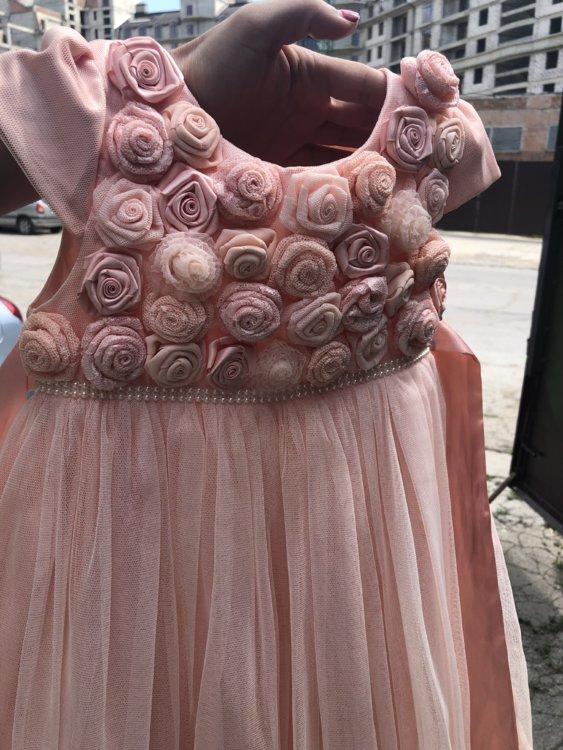 fcc12978cb40781 ... турция Очень красивое платье для девочки, 4-5 лет, турция