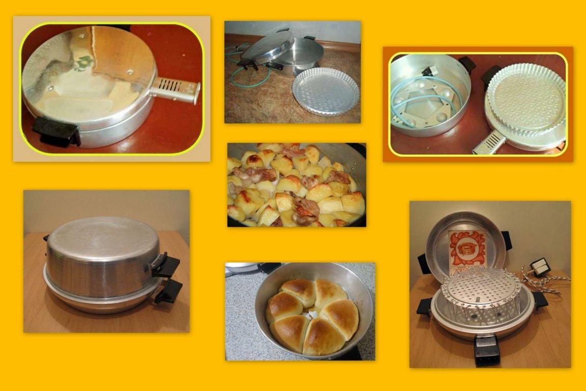рецепты для чудо печки электрической с фото два
