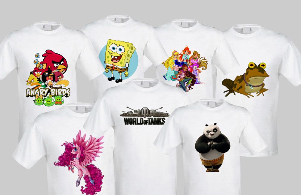 футболки с фотопечатью на заказ стала всеобщей любимицей