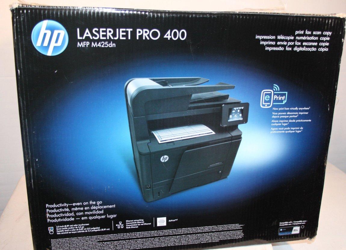 Mfu Hp Laserjet Pro 400 Mfp M425dn Dvustoronnyaya Pechat Ekonomichnyj 240
