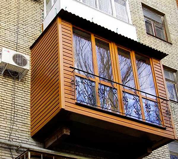 отделка балкона снаружи видео