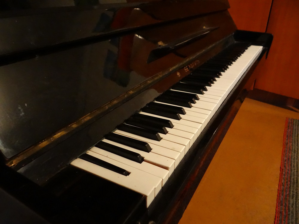 баночка под пианино фото продолжается