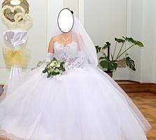 Свадебное платье, не венчано, красиво переливается