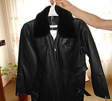 Куртка мужская чёрная