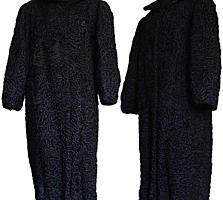 Каракулевая шуба, разм. 50-52 (чёрная), плащи, пальтo