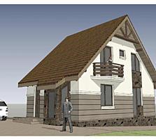 Тёплый, экономный дом 100 м2, 24600 евро