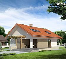 Casa cu arhitectura modernista 134 m2 la doar 36180euro
