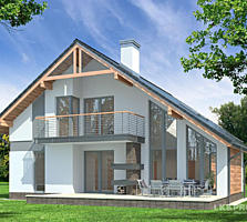Тёплый и прочный дом с гаражом 165 m2!