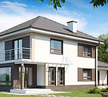 Спешите, двухэтажный дом 192м2 с высокой теплоизоляцией