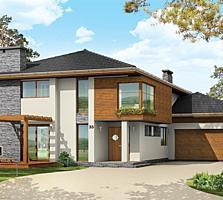 Уютный, современный, экономный дом.