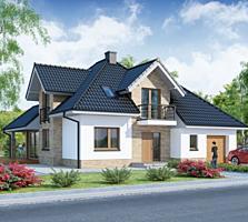 Casa eficienta termic 145 mp, cu garaj doar 29725 euro.