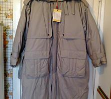 Китайское новое пуховое пальто, р. 52/3 - 250 леев. Без торга.