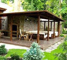 Оформление интерьеров деревянными конструкциями