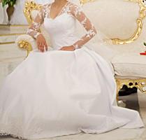 Продам свадебное платье в очень хорошем состоянии