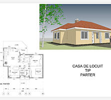 Casa eficienta termic 80 m2. Garantie 30 ani!!!!