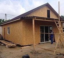 Строительство домов, офисов, магазинов, складов,250$/м2