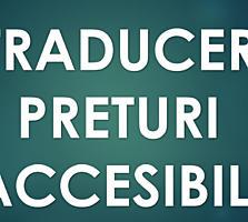 Traduceri la preturi accesibile. Centru.