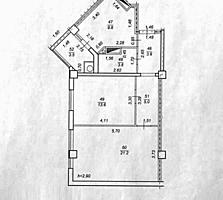 2-комнатная квартира. 60 м2. Белый вариант. 42000 евро