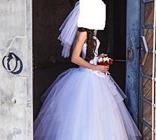 Недорого. Свадебное платье 1000 руб