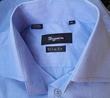 Продам новую рубашку с длинным рукавом - 55 руб.
