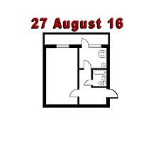 Vind apartament cu o camera in or. Rezina, str. 27 August 16 et. 3