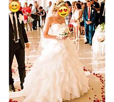 Продаётся стильное свадебное платье в отличном состоянии
