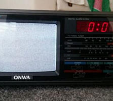 Onwa Color TV/Radio/Clock TVR-706