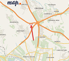 Teren 0,5 ha -1 ha la traseu, Chisinau