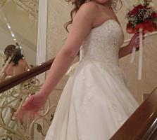 Авторское свадебное платье, новое