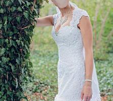 Продам или отдам в прокат великолепнейшее свадебное платье!!!