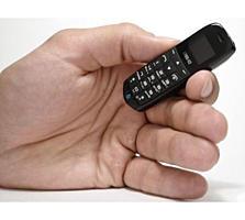 Telefon de marimea unui card bancar