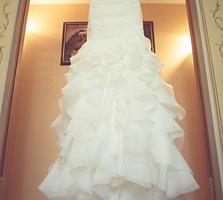 Продам свадебное платье - рыбка!