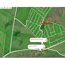 Teren drept pentru constructie cu toate comunicatiile 3 km de la oras!
