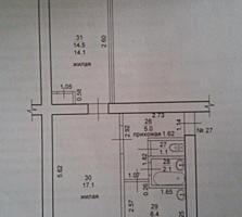 Продам 2-комнатную квартиру в Суклее с гаражом. Торг.