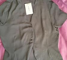 Bluză de firmă, Emporio Armani, absolut nouă, din mătasă naturală, M