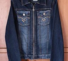 Джинсовая и кожаная куртки, сарафан, брюки, недорого