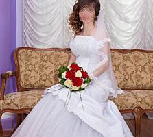 Продам красивое свадебное платье 1500 руб.