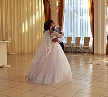 Нежное свадебное платье!