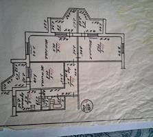 Срочно продам 3-комн. квартиру в Бендерах. Борисовка.