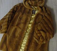 Лисья Шуба(натуральный мех). Размер 46-47