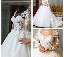 Свадебное платье продам или сдам в прокат.