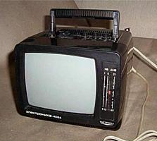 Раритетный Переносной телевизор