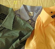 Дешево фирменные рубашки, костюмы, галстуки.
