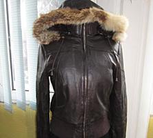 СТИЛЬНЫЕ ФИРМЕННЫЕ куртки из Европы!!! 100% кожа!!!