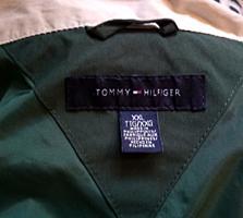 НОВАЯ куртка TOMMY-HILFIGER зелёно-белая, мужская, большой размер!